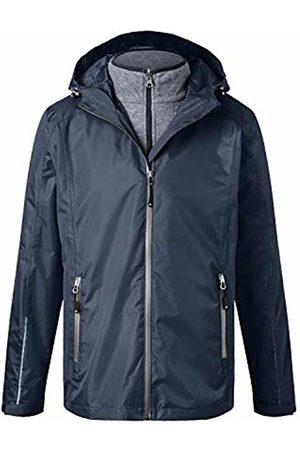 James & Nicholson Women's Men's 3-in-1-jacket Jacket, Navy/