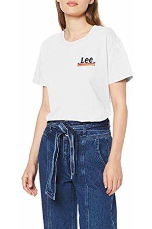 Lee Women's Chest Logo TEE T - Shirt, Off- MK