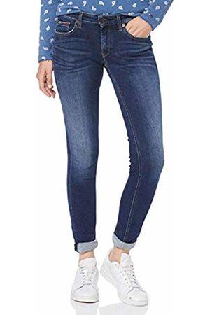 Tommy Hilfiger Women's Low Rise Skinny Sophie Orgk Straight Jeans, ((Denim 1bj)