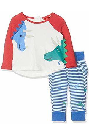 Joules Baby Boys' Mack Clothing Set, Cream Dinos