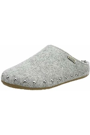 Living Kitzbühel Girls Slippers - Girls' Pantoffel Filz Nieten mit Fußbett Open Back Slippers