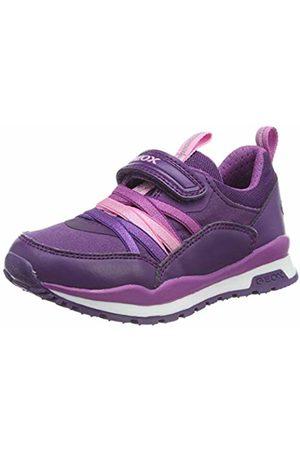 Geox J Pavel Girl B Low-Top Sneakers, (Violet/ C8267)