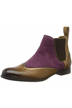 Melvin & Hamilton Women's Sally 19 Ankle boots Mehrfarbig ( Suede Chilena-Crazy Cashmere Crust-Tortora-Binding Nappa Aztek-Bronze-Elastic-Mid -Lining-Rich Tan-Insole Leather-Hrsrbrownw) 6.5 UK