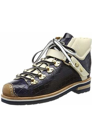 Melvin & Hamilton Women's Eliza 1 Ankle Boots, Blau ( Vegas-Navy-Crock Strap Lining-Rich Insole Leather-Rp060navyv + -Eva + Welt Natural-Sockskrichc Tan)