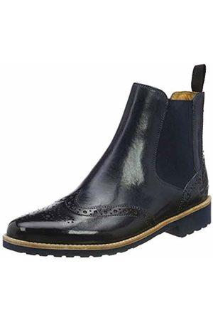 Melvin & Hamilton Women's Selina 6 Chelsea Boots, Blau ( Crust-Marine-Elastic Lining-Rich Tan-Insole Leather-Rooko D-Navy)