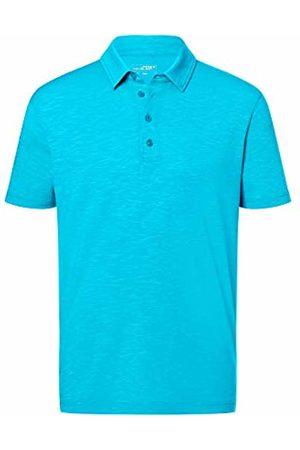 James & Nicholson Men's Slub Polo Shirt, Turquoise
