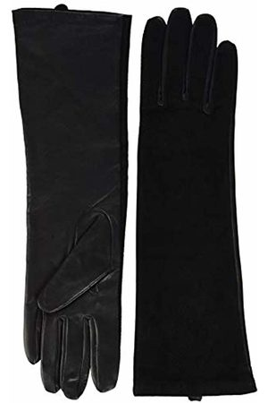 Scotch&Soda Maison Women's Leather Suede Mix Gloves With Badge 08)