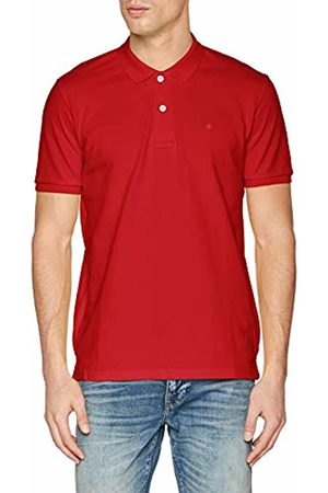 Celio Men's Neceone Polo Shirt, Rust