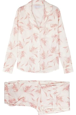 Desmond & Dempsey Deia Printed Cotton Pyjama Set