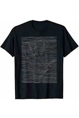 Costune Halloween Costumes Shirt Men Women Kids Scary Creepy Optical Illusion Hand Prints Halloween Design T-Shirt