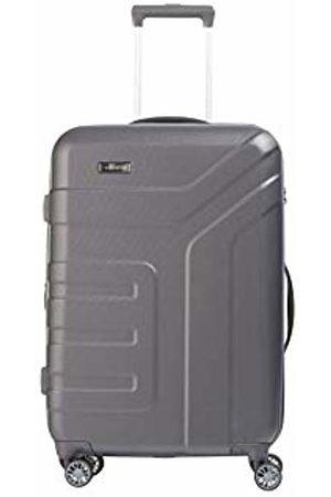 "Elite Models' Fashion Valise trolley ""Vector"" avec 4 roues anthracite Suitcase, 70 cm"