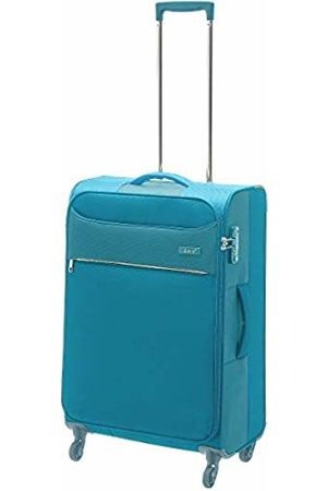 D & N Travel Line 6304 Suitcase 67 cm (Turquoise) - 6364-05