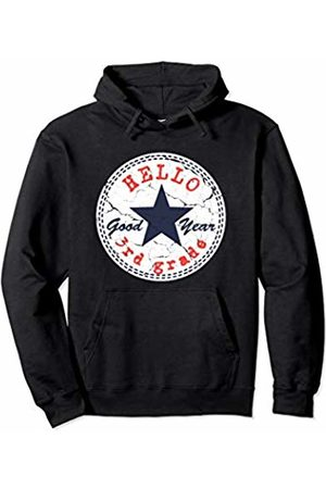 J. Berg Careers & Professions Hello 3rd Second Grade Back to School Gifts Teachers Kids Pullover Hoodie