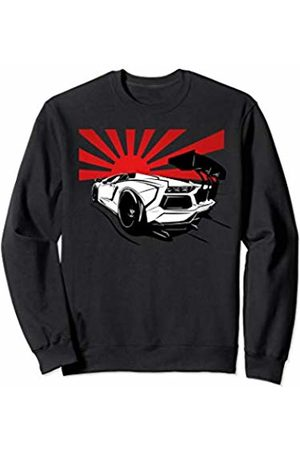 Automotive Apparel 2 Italian Supercar JDM Tuning Car Retro Japan Sport Boys Gift Sweatshirt