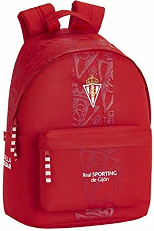 Safta Official Gijon Real Sporting Junior Backpack for 14.1 inch Laptop
