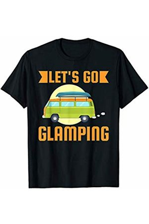 That's Life Brand LET'S GO GLAMPING T SHIRT
