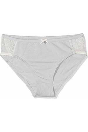 Sanetta Girl's Rioslip Knickers, Ice 1566