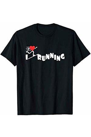 Running Accessories & Apparel I Love Running Runner T-Shirt