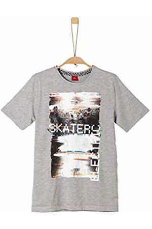 s.Oliver Boy's 61.908.32.5707 T-Shirt, ( Melange 9400)