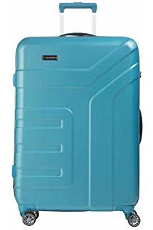 "Elite Models' Fashion Valise trolley ""Vector"" avec 4 roues turquoise Suitcase, 77 cm"