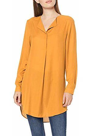 Vila NOS Women's Vilucy L/s Tunic - Noos Blouse, Golden Oak