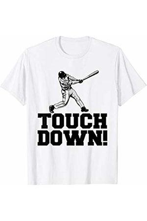 Miftees Baseball Touchdown funny Sarcastic Sports T-Shirt
