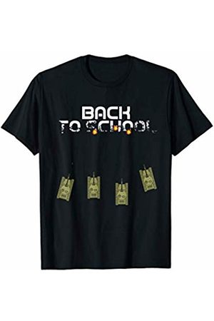 Back To School for Kids Gift and tee Men Tank Tops - Game Over Back To school Funny Military Tank Offensive T-Shirt