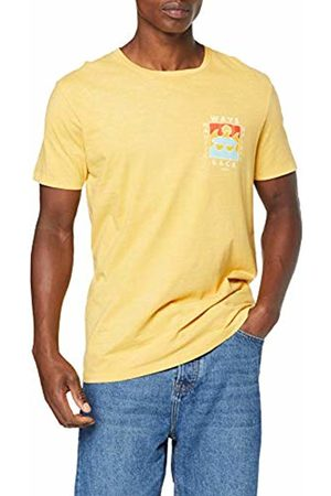 Jack & Jones Men's Jorsurfsoul Tee Ss Crew Neck T-Shirt, (Yolk Fit: Reg)