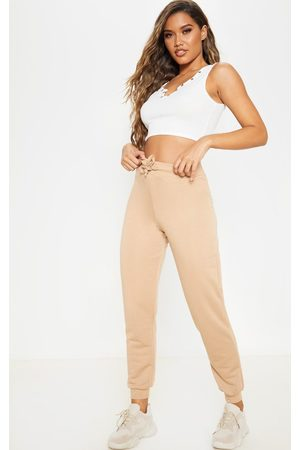 PRETTYLITTLETHING Taupe Ultimate Sweat Jogger