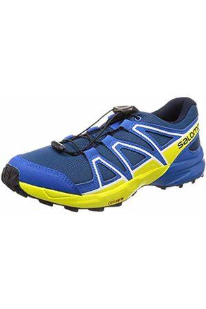 Salomon Kids' Trail Running Shoes, Speedcross J, Poseidon/Sky Diver/Sulphur Spring