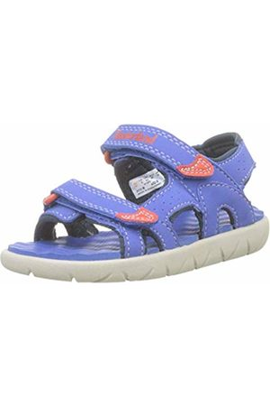 Timberland Unisex Kids' Perkins Row 2-Strap Open Toe Sandals, (Nebulas Fsj)