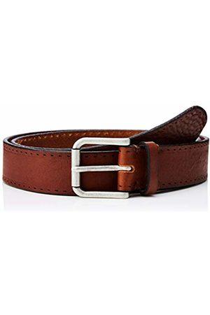 Selected Homme NOS Men's Slhterrel Leather Belt Noos W, Cognac