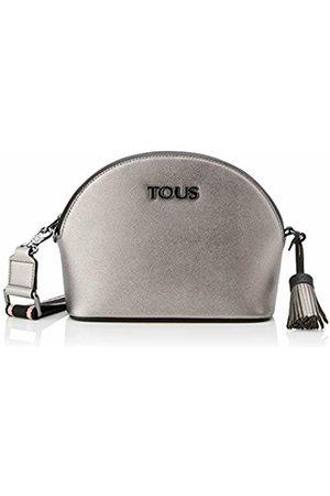 TOUS New Essence Women's Messenger Bag, (Gun/Negro 995900615)
