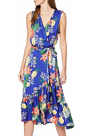 Koton Women's Summer Dress With Wrap Around Neckline Party Dress