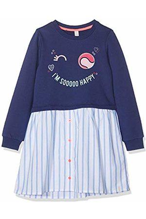 Esprit Kids Girl's Rp3106307 Knit Dress Ls Marine 446