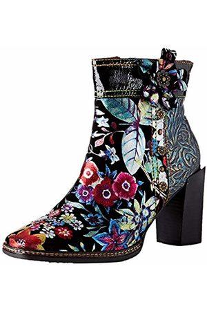 LAURA VITA Women's Gaclloo 03 Ankle Boots, (Noir)