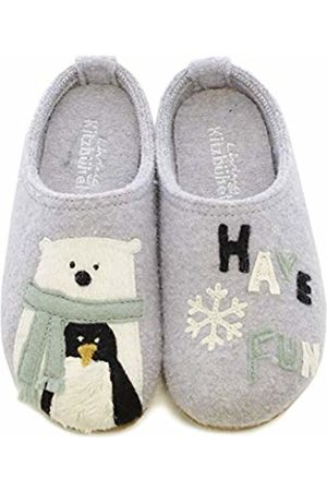 Living Kitzbühel Unisex Kids' Pantoffel Eisbär & Pinguin Have Fun Open Back Slippers