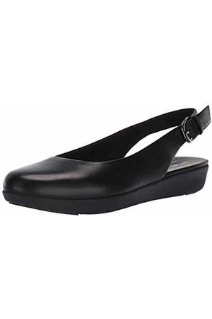 FitFlop Women's Sarita Sling Backs Closed Toe Ballet Flats, ( 090)