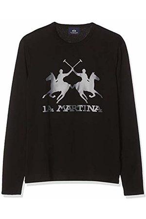 La Martina Men's Man Jersey T-Shirt L/s Kniited Tank Top, ( 09999)