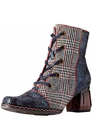 LAURA VITA Women's Gocalo 02 Ankle Boots, Bleu