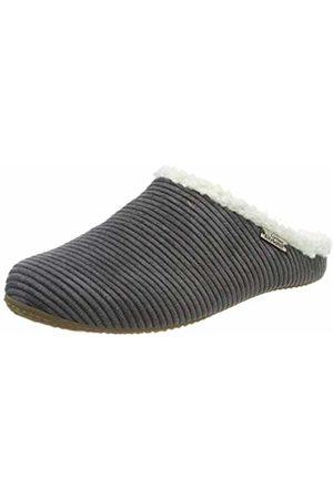 Living Kitzbühel Girls' Cordpantoffel Plüsch mit Fußbett Open Back Slippers