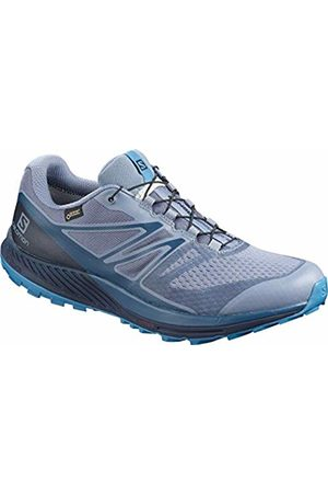 Salomon Men's Trail Running Shoes, Sense Escape 2 GTX, Flint Stone/Navy Blazer/Fjord
