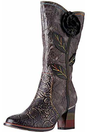 LAURA VITA Women's Geceko 05 High Boots, Noir