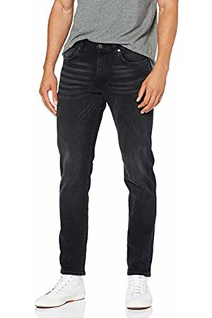 Selected Homme NOS Men's Slhstraight-Scott 6138 Blk St JNS W Noos Straight Jeans
