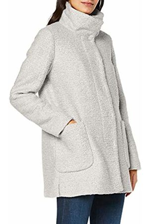 Comma, Women's 8t.908.51.2159 Coat, Off- Off- (Ivory 8143)