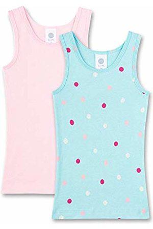 Sanetta Girl's Unterhemd im Doppelpack Vest, (Angel 5568)