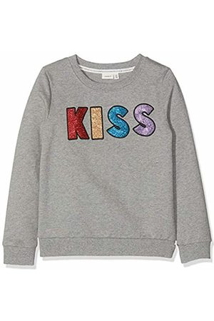 Name it Girl's Nkflakiss Ls Sweat Bru Sweatshirt, Melange