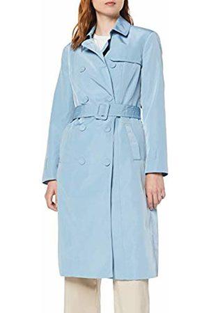 Koton Women's Trenchcoat Mit Bezogegnen Knöpfen Coat