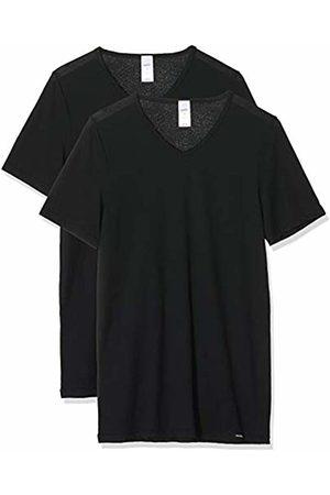 Skiny Men's Collection V-Shirt Kurzarm 2er Pack Vest, 7665