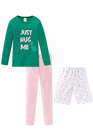 Schiesser Girls Pyjamas - Girls' Md Anzug 3-teilig Pyjama Sets